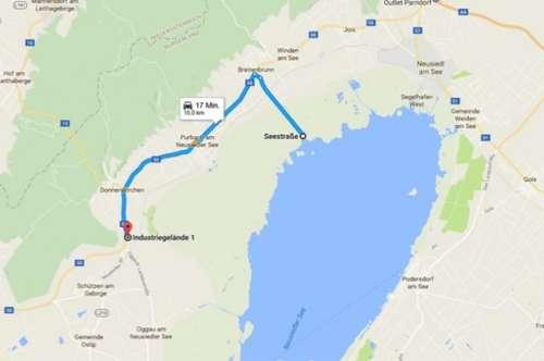 Bauland-Betriebsgebiet DONNERSKIRCHEN! Tolle Lage - Eisenstadt , Neusiedl, Ungarn! TOP-Anbindung zur Autobahn!
