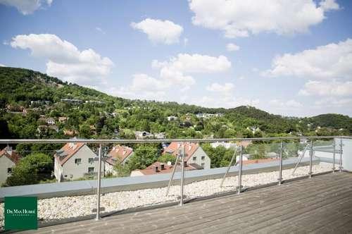 Moderne Dachterrassenwohnung mit traumhaftem 360° Ausblick