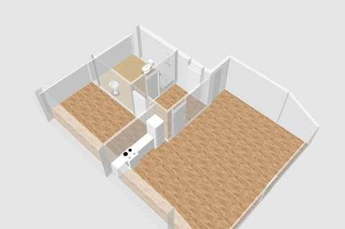 Erstbezug - DG-Pärchenwohnung oder für Single zu mieten !