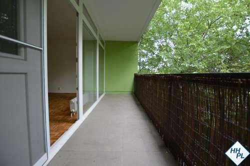 2-Zimmerwohnung mit Loggia in Grünruhelage