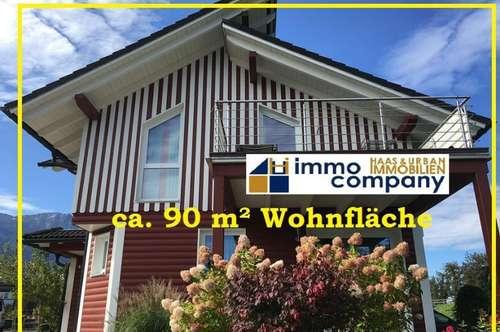 Einziehen und wohlfühlen! 3-Zimmer Wohnung mit ca. 90 m² nur wenige Gehminuten vom Faaker See!