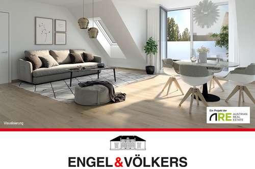 Erstbezug: Moderne DG-Wohnung mit Terrasse