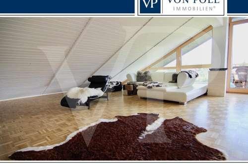 Stylische 4,5-Zimmer-Dachgeschosswohnung mit tollem Ausblick!