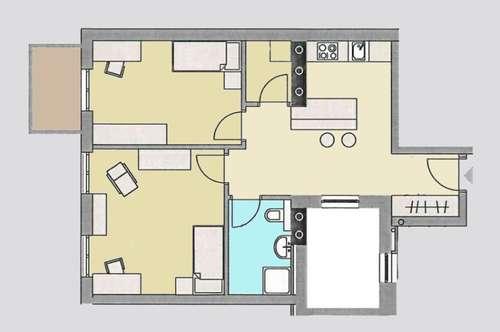 Innsbruck (AT) / 3 Zimmer-Wohnung