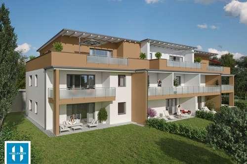 Nur noch 4 Wohnungen frei!! ländlich & modern - 12 neue Eigentumswohnungen in Dorf an der Pram von 40m² - 94,5m²
