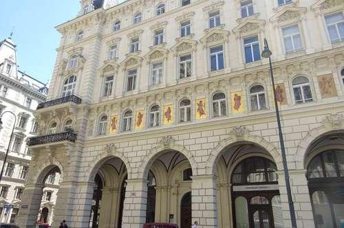 Unbefristete Geschäftsfläche auf 2 Ebenen im majestätischen Ambiente, am Rathausplatz