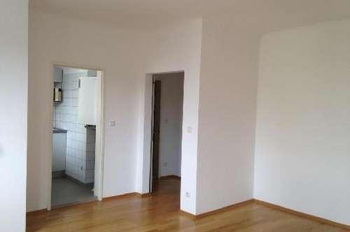 INKL. HEIZKOSTEN! - Helle 1-Zimmerwohnung mit Loggia und Blick ins Grüne