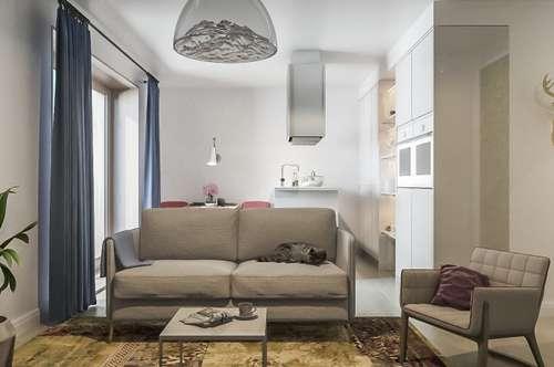 Erstbezug! 2-Zimmer-Gartenwohnung für Starter