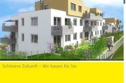 Moderne 3-Zimmerwohnung mit Balkon und Kaufoption zu vermieten! Bezug Herbst/Winter 2018!