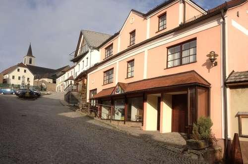 2 getrennte Wohnungen und Geschäftslokal im Zentrum von Bad Traunstein, PROVISIONSFREI!