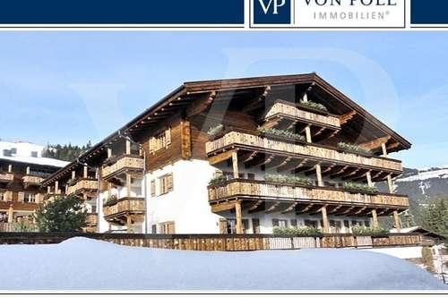 Schicke 3- Zimmer Wohnung im 1.OG direkt an der Skipiste mit – Freizeitwohnsitz -