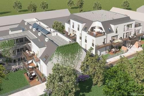 Ruhige Zwei-Zimmer-Neubau-Wohnung im Zentrum von Brunn am Gebirge