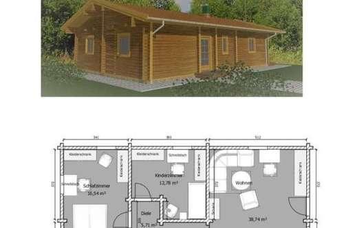 Neubau-Haus inkl. Bodenplatte und Grundstück in Jennersdorf
