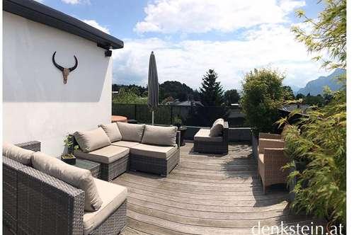 Traumhafte moderne 3 Zimmer Dachterrassenwohnung mit Panoramablick in Salzburg Stadt
