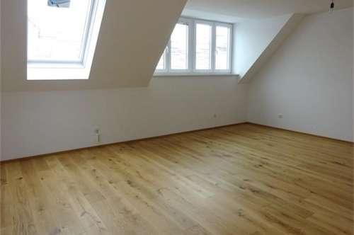 Erstbezug: Terrassenhit über den Dächern, Neubau (Ausbau von Altbau), hochwertig und wunderschön, 18 m2 hofseitige, sonnige Terrasse, Nähe U6-Nußdorferstraße!