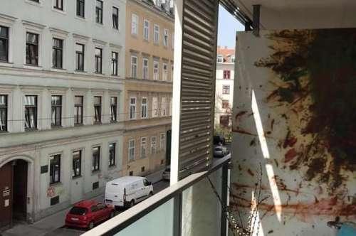 Mitten in der City mit Balkon - unbefristet - Zweitbezug