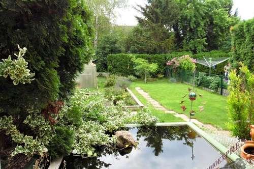 2483 Ebreichsdorf, traumhafter Garten mit entzückender Doppelhaushälfte
