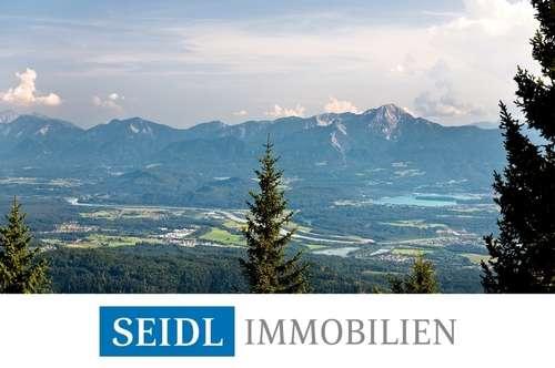 Einzigartiges Bergdomizil mit atemberaubendem Blick auf die umliegenden Berge und Kärntner Seen