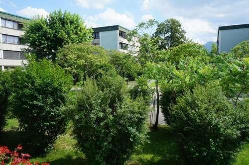 Perfekte 4 Zimmerwohnung mit Blick ins Grüne für die junge Familie