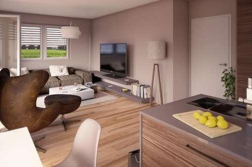 Einzigartige Eigentumswohnung in ruhigem, grünen Siedlungsgebiet! Sichern Sie sich jetzt eine geförderte 2-Zimmer-Wohnoase mit Balkon! Provisionsfrei!