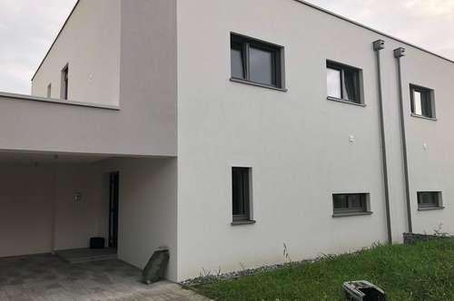 Neue Doppelhaushälfte mit Flachdach, Grosszügige Raumaufteilung, Sackgasse, TOP A und B beide noch verfügbar !!!