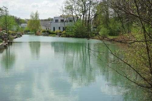 Traumhafte Wohnung mit Balkon und Swimmingpool, direkt am See