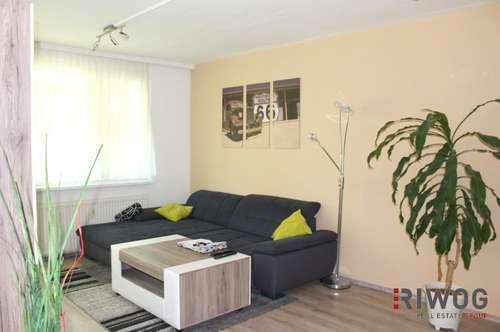 GEPFLEGTE 3-Zimmer mit Westloggia und Parkplatz