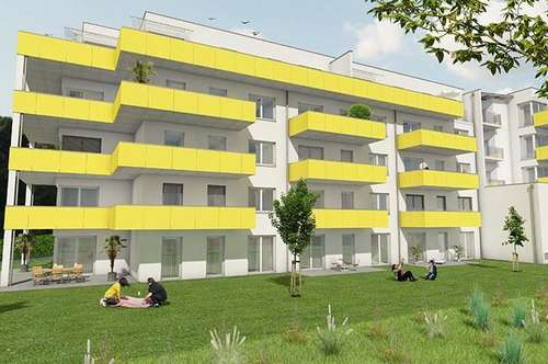 Neubau-3-Zimmerwohnung mit 14m² großen Balkon in Gösting!