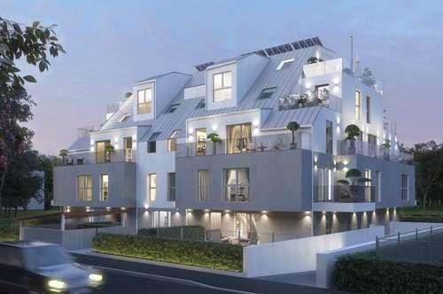 NEUBAU: DACHTERRASSENWOHNUNG: 2 Zimmer mit großer Terrasse