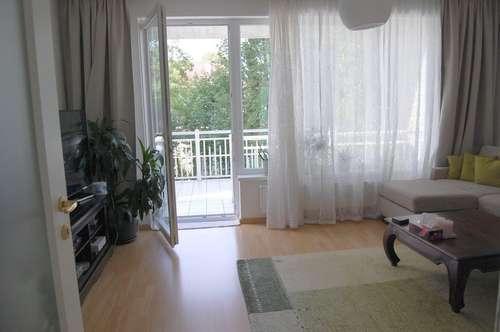 2-Zimmer-Wohnung im Grünen