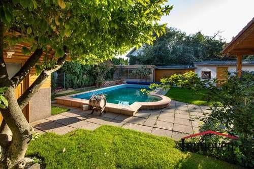 Für Naturliebhaber - Idyllisches Einfamilienhaus mit Garten/Terrasse und Pool - Nähe Wien