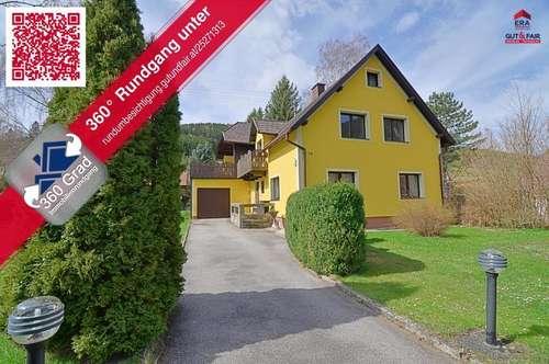 Einfamilienhaus mit Holzhäuschen - Puchberg/Schneeberg