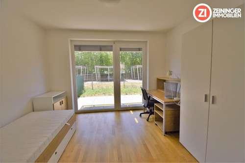 UMZUGSAKTION - 1 MONAT MIETFREI - Top 2 ZI-Wohnung in toller Lage mit Garten und Küche - vollmöbliert