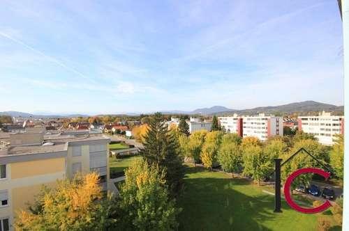 Schöne helle Wohnung mit großer Loggia und Garagenplatz in sonniger Aussichtslage