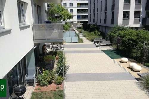 Wohnraumwunder mit Freifläche: zentral begehbar und absolut ruhig !