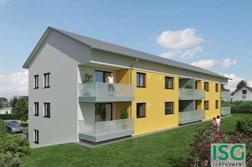 Neubauprojekt in Geretsberg, Zweizimmer-Eigentumswohnung Top 3