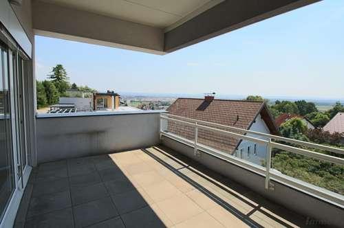Lifestyle-Wohnung am Gedersberg! Mit Dachterrasse und Rundumsicht!