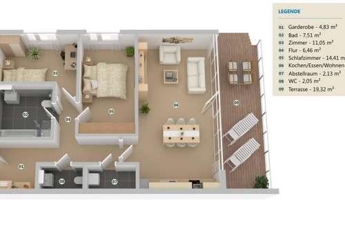 Wohntraum mit Garten und Terrasse - Erstbezug