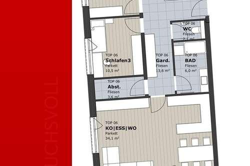 Familienglück - 4 Zimmer Neubauwohnung, provisionsfrei