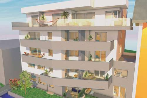 3-Raum Wohnung mit traumhaft schönem Panoramablick in die Berge im Zentrum von Pettenbach