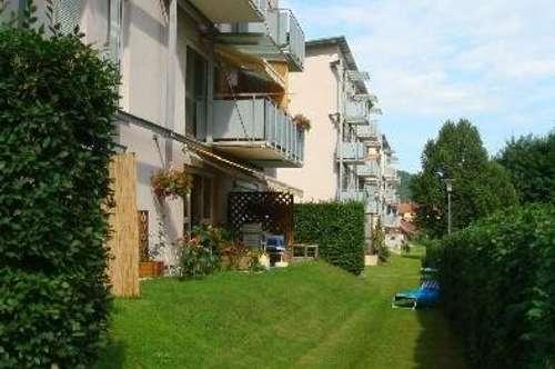 Barrierefreie, sonnendurchflutete 1-Zimmer-Wohnung mit Terrasse im Erdgeschoss ideal für Jung und Alt, in ruhiger Grünlage