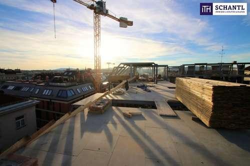 Traumhafte Dachterrasse! Erstbezug im Dachgeschoss eines rundum sanierten Altbaus inkl. Parkplatzmöglichkeit!