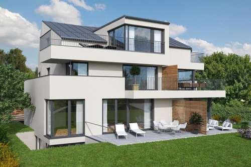 AUF WOLKE SIEBEN  IN ALT-LIEFERING! 4-Zimmer-Dachterrassen-Wohnung in tollem Neubau-Bauprojekt!