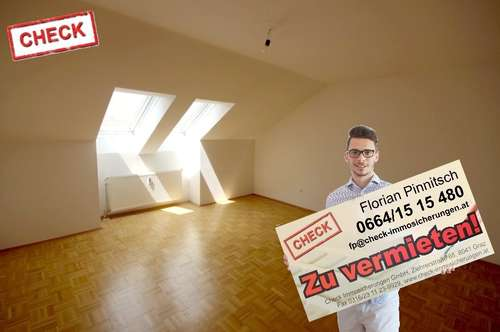 2 Zimmer Wohnung im Universitätsviertel - Nähe Kaiser-Josef-Platz mit Allgemeingarten zu vermieten!