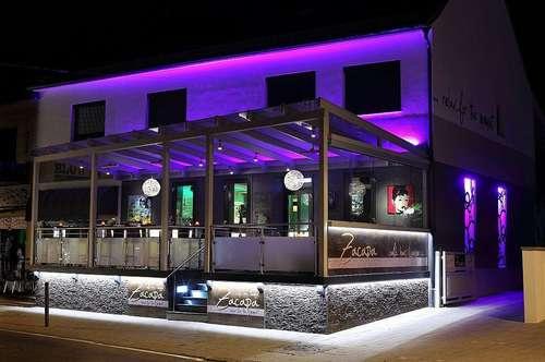 TOP Bar mit verglaster Terrasse