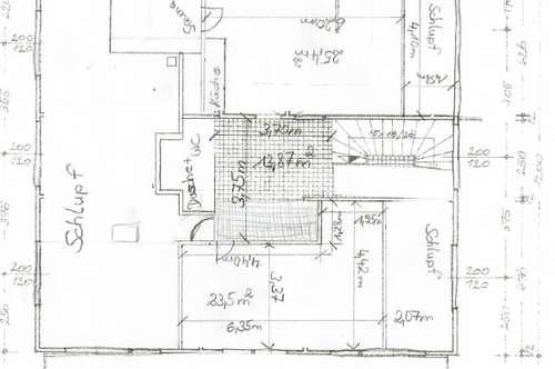 Lingenau: teilausgebaute 2-Zimmerwohnung mit ca. 65 m² Wohnfläche