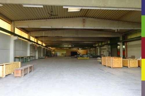 Gerwerbehallen mit LKW Laderampen