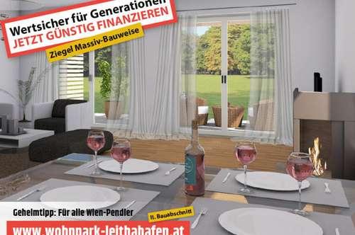 Haus 18! Doppelhaushälfte im Wohnpark Leithahafen!