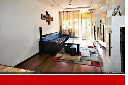 Sonnige 2-Zimmerwohnung mit Garage