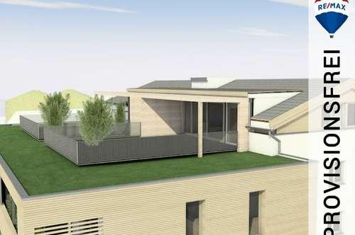 Neubau   3 Zimmer Dachgeschoss-Wohnung mit ca. 64,50 m² Dachterrasse zum Wohlfühlen